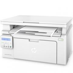 惠普(HP)M132nw黑白激光三合一无线多功能一体机(惠普小超人、打印、复印、扫描) 货号100.JY