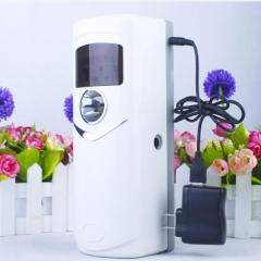 ManLQI自动喷香机定时室内宾馆酒店专用插电式喷雾器卫生间厕所除臭空气清新充电加香机 白色 货号100.MZ