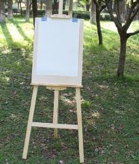 凡高(fangao)凡高1.5米实木画架+画板套装4k实心画板画架木制素描写生绘画 货号100.MZ