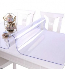 PVC桌布 1060*1100mm 防水防烫防油免洗透明胶垫塑料餐桌垫茶几垫水晶板100.ZH017