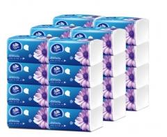维达(Vinda) 抽纸 超韧3层130抽软抽*24包(小规格) 整箱销售 货号100.MZ