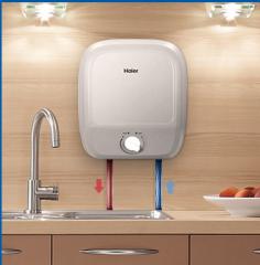 海尔(Haier) 厨宝 即热式电热水器 储水式小厨宝 ES6.6F/6.6升下出水 货号100.JQ096