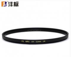 沣标(FB)MRC UV镜/ CPL偏振镜 多层镀膜 佳能/索尼/尼康/镜头保护镜 滤光镜 52mm UV镜