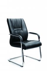 爱得帮 真皮办公椅电脑椅主管椅中班椅职员椅老板椅人体工学椅弓形椅 货号700