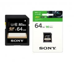 索尼(SONY) SF-64UY 64G SD卡 90M/S 数码相机内存卡 货号100.MZ