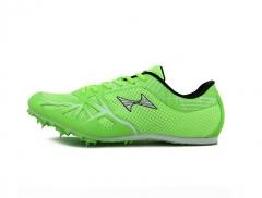 海尔斯(health) 166田径短跑步鞋男女学生中高考钉子鞋 钉鞋 钉子鞋跑钉鞋田径钉鞋 绿色43号 货号100.MZ