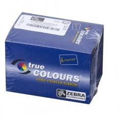 斑马(ZEBRA) P330i证卡打印机 制卡机会员卡VIP卡工作证 原装色带 彩色440CS 货号100.MZ