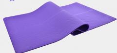 奥义瑜伽垫 TPE环保183*80cm加宽中位线健身垫货号100.HW013