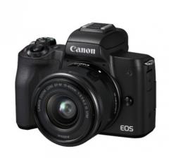 佳能 (Canon)EOS M50(15-45镜头)黑色套机 微单 货号100.JQ466