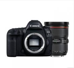 佳能(Canon)EOS 5d4/5D Mark IV 全画幅单反相机 配EF 24-70mm f/2.8L II USM 货号100.H208