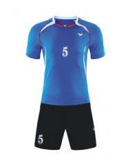 排球服套装排球衣男女透气速干气排球训练服队服定制印字 货号100.CH2093
