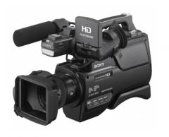 索尼 入门级专业肩扛式摄像机 HXR-MC2500 含包+64G卡+备用电池+三脚架 货号100.YH