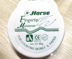 马牌horse 进口40g点钞蜡 银行专用润指蜡货号100.HW023