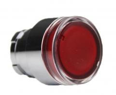 施耐德电气 XB2 复位型 22mm 按钮指示装置附件 ZB2BW34C LED型平头按钮头3个/组  货号100.MZ