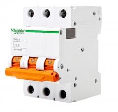 施耐德电气 E9 EA9AN 3P 6KA 微型断路器 EA9AN3C32 C32A 3个/组 货号100.MZ