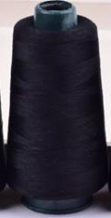 大卷宝塔线手缝针线涤纶线团缝衣服线缝纫机线 黑色货号100.HW010-