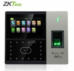 中控ZKTeco IFace702 指纹 人脸考勤机 货号100.YH
