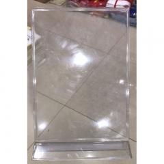透明桌牌台签 A4大小 货号100.JQ586