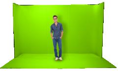 Datavideo MG-353.5M宽便携绿箱(高2.2米)  货号100.yt243