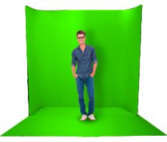 DatavideoMAT-5-1 绿色塑胶抠像布1M  (W:1.8M*L:1M*T:0.35mm)     货号100.yt245
