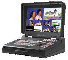 DatavideoHS-12004路HD-SDI+2路HDMI输入,3路输出(2SDI+1HDMI)纯高清移动演播室     货号100.yt253