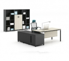 爱得帮 班台中小型班台简约现代板式电脑桌2000*1800*750 货号700