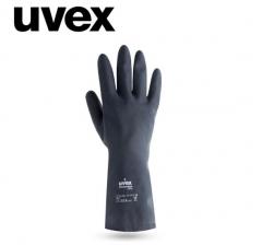 Uvex耐酸碱化学实验室防护手套喷漆专用防护橡胶手套 工业 机械 1副 货号100.MZ