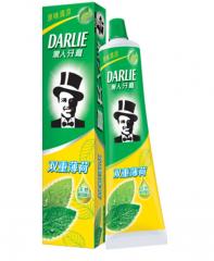 黑人(DARLIE)双重薄荷清新口气牙膏120g  货号100.XH371