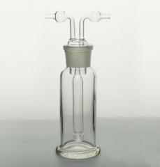 成阳 玻璃仪器 多孔式气体洗瓶 孟氏洗瓶 多孔洗瓶 500ML 货号100.MZ