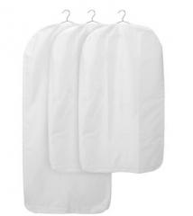宜家 SKUBB 思库布 衣服罩 3件 白色