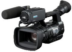 杰伟世(JVC) GY-HM610K  广播级摄像机(含原装电池、原装电池充电器)    ZX.122