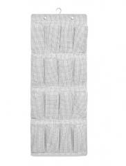 宜家 STUK 斯图克 挂式鞋收纳件 51厘米x140厘米 白色/灰色