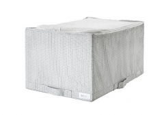 宜家 STUK 斯图克 储物袋 34厘米x51厘米x28厘米 白色/灰色