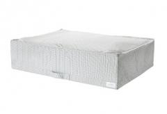 宜家 STUK 斯图克 储物袋 71厘米x51厘米x18厘米 白色/灰色