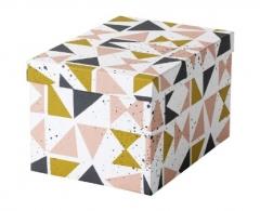 宜家 TJENA 希纳 附盖储物盒 18厘米x25厘米x15厘米 多色