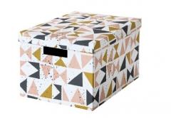 宜家 TJENA 希纳 附盖储物盒 25厘米x35厘米x20厘米 多色