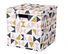 宜家 TJENA 希纳 附盖储物盒 30厘米x30厘米x30厘米 多色