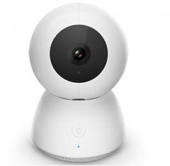 米家(MIJIA)小白智能摄像机小米摄像头360全景拍摄 1080P高清红外夜视 双向语音互动 智能机器人 货号100.MZ