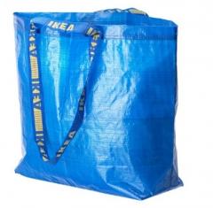 宜家 FRAKTA 弗拉塔 购物袋 36公升 蓝色