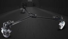 耐思得(NEST)NT-01滑轮三脚架万象滑轮底座摄像机移动地轮    货号100.TL