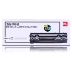 得力(deli)DEH-388AX 大容量黑色硒鼓 388A 88A硒鼓(用于HP1106打印机)  货号100.LS350