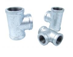 智嘉航 镀锌钢管等径三通 DN25 冷热水管 货号100.LS403