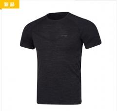 李宁 混色黑 短袖文化衫AHSN681-4     TY.294