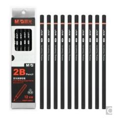 晨光AWP34601 2B亚光油漆铅笔12支/盒   货号100.XH205