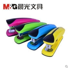 晨光ABS91641订书机  12号 粉、黄、绿、蓝颜色随机     XH.112