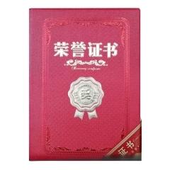 伟业一选 荣誉证书 烫金封皮12K含内页内芯 10本/组     XH.017