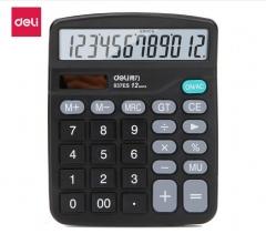得力 837 桌上型计算器 12位     XH.027
