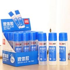 得力 7303 高粘度125ml液体胶/胶水 12瓶/盒     XH.044