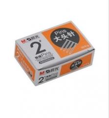 晨光 ABS92602 大头针 2#2号 50克/盒     XH.082