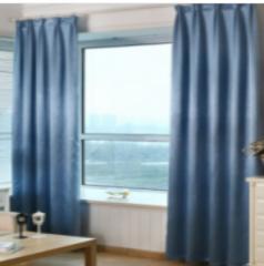 定制窗帘 通长 宽8.5米 高3.05米 货号 100.JY